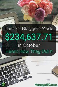 These 5 Bloggers Made $234,637.71 in October. Here's How They Did It